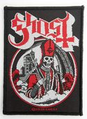Ghost - 'Secular Haze' Woven Patch